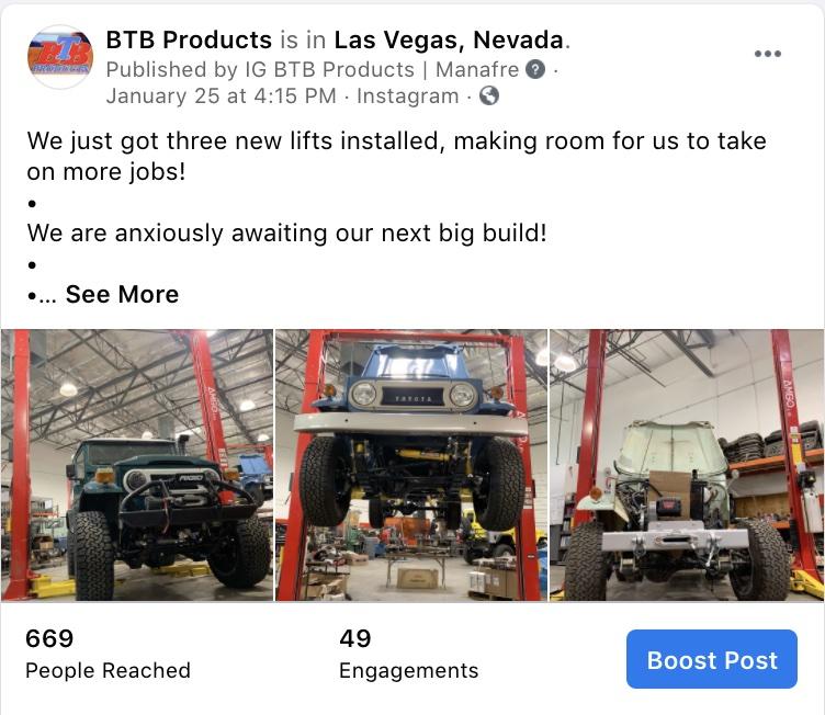 Social Media Marketing-BTB Products