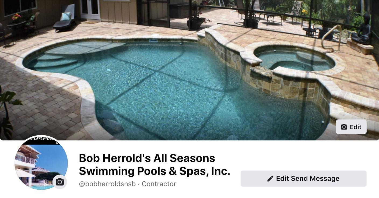 Social Media Marketing-Bob Herrold's All Seasons Swimming Pools & Spas, Inc.